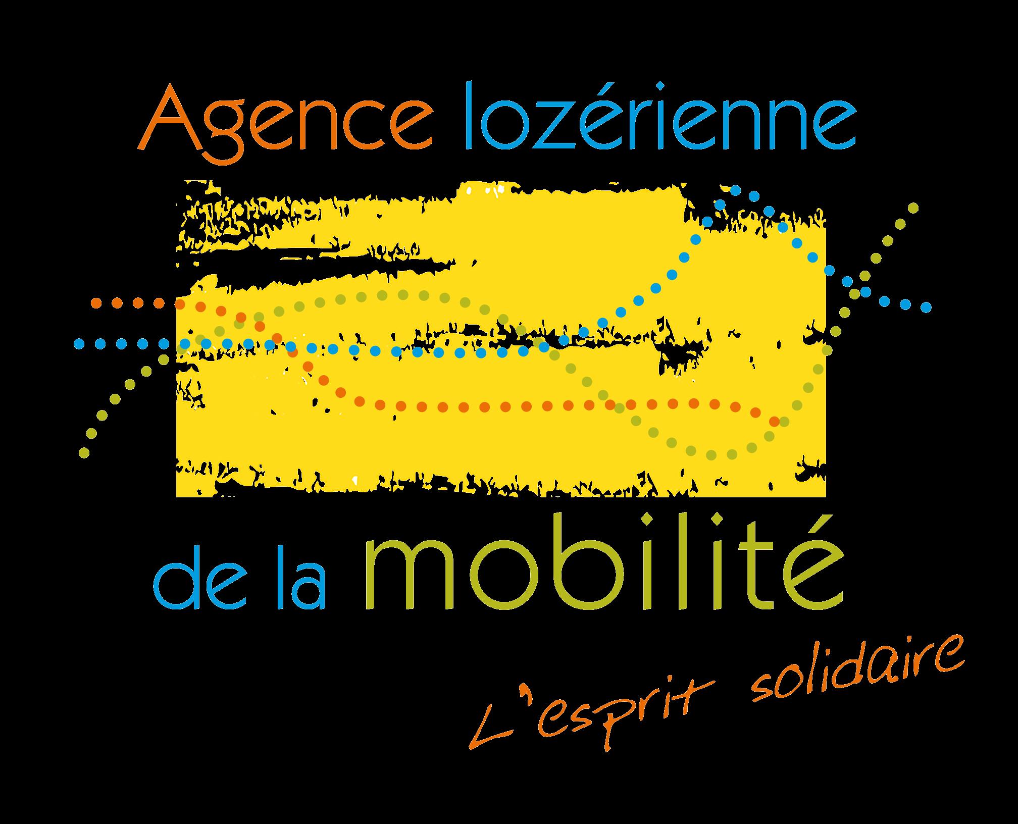 Logo de l'Agence Lozérienne de la Mobilité
